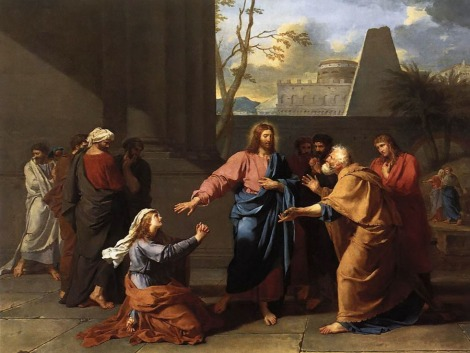 Christ and the Canaanite Woman [c.1784 by Germain-Jean Drouais]